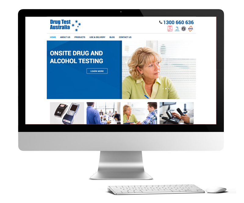Drug Test Australia Website